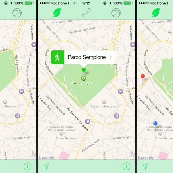 iOS 7 interface