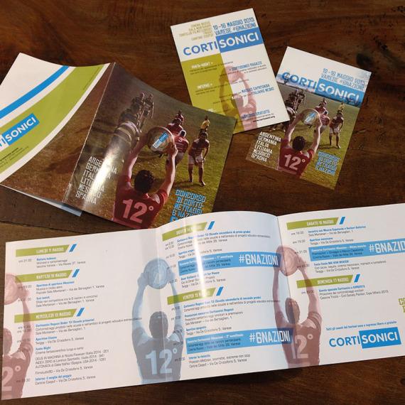 leaflet & promo cards