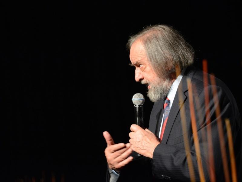 the president, Gino Buscaglia
