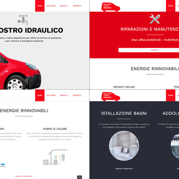 original website design